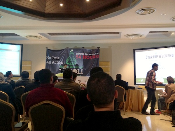 ستارت أب ويكيند طرابلس Startup Weekend Tripoli