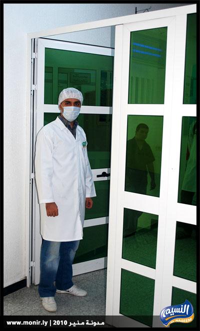 الزي الموحد داخل مصنع النسيم